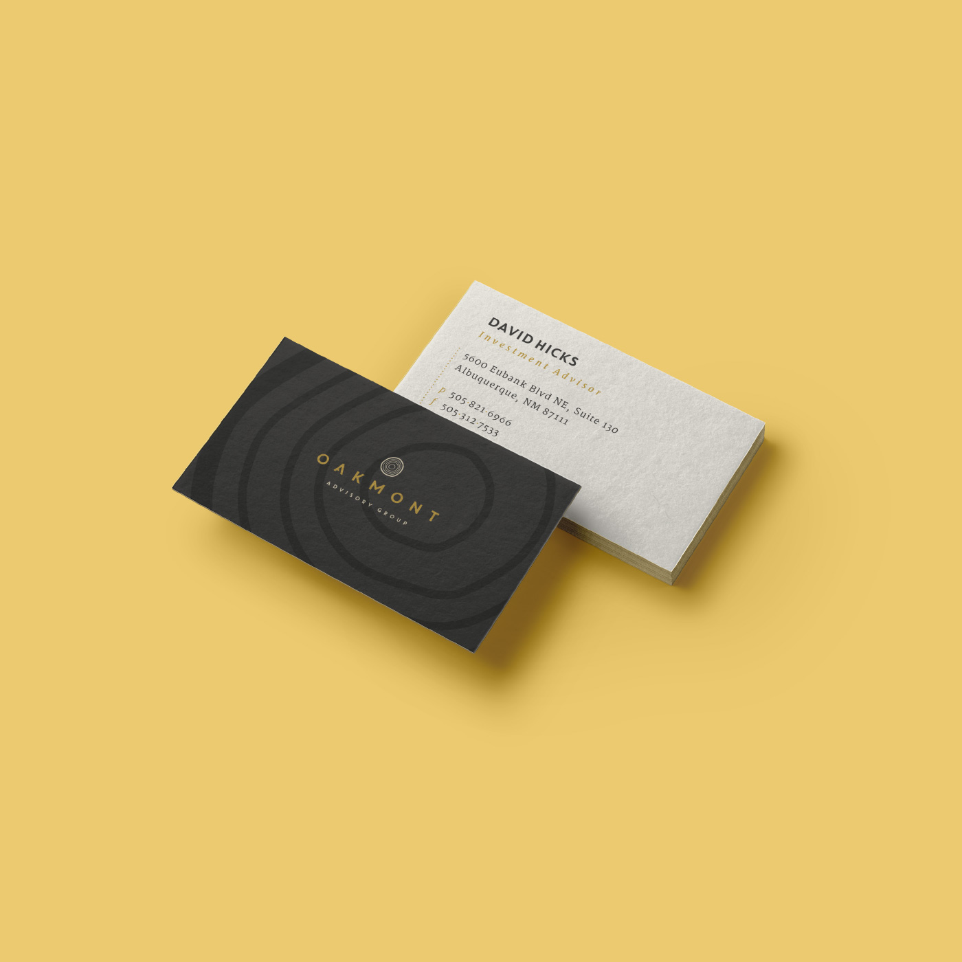 Oakmont Business Card