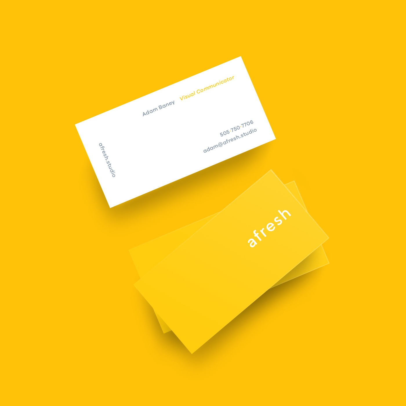 Afresh Studio Business Card